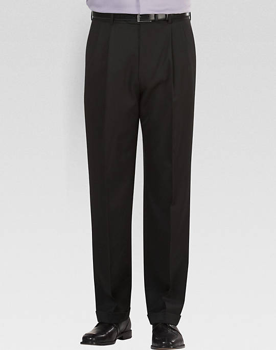 solid black pants - Pi Pants
